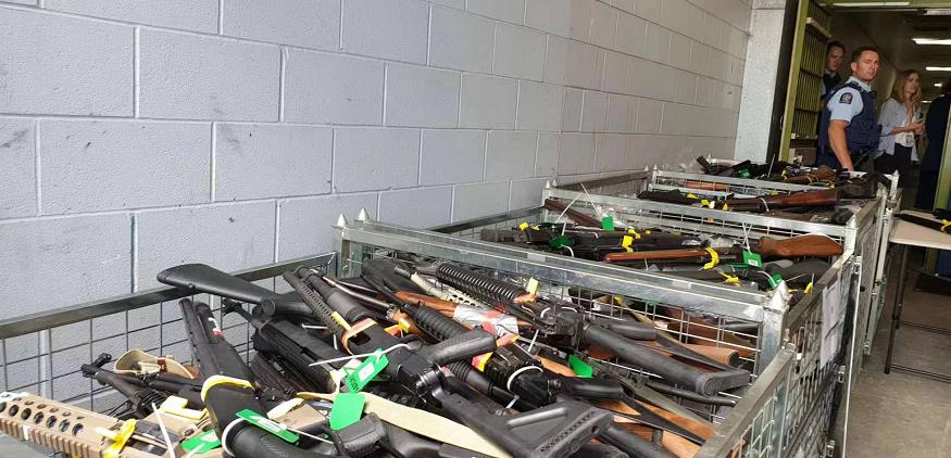 【蜗牛棋牌】新西兰枪支回购行动结束 共回购收缴枪支超6万支
