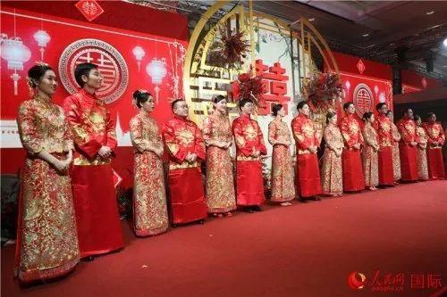 """【一周东盟汇12.16-12.22】9对""""一带一路""""建设者在泰国举办集体婚礼"""