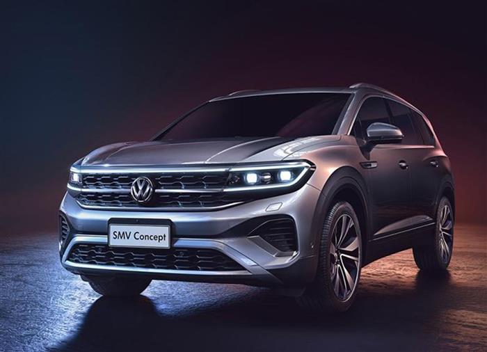 車海戰術 大眾明年將發布34款新車