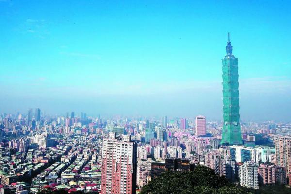 台北101大楼。(图:《说相符报》)