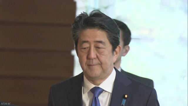 听心腹汇报这事后 安倍沉重指出:这是日本的国难