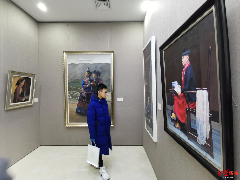 辜志勇油画作品展今日开幕,用唯美写实言说古典的价值
