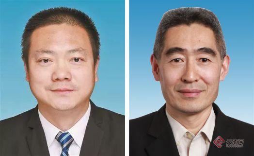 张斌(左)刘永禄(右)