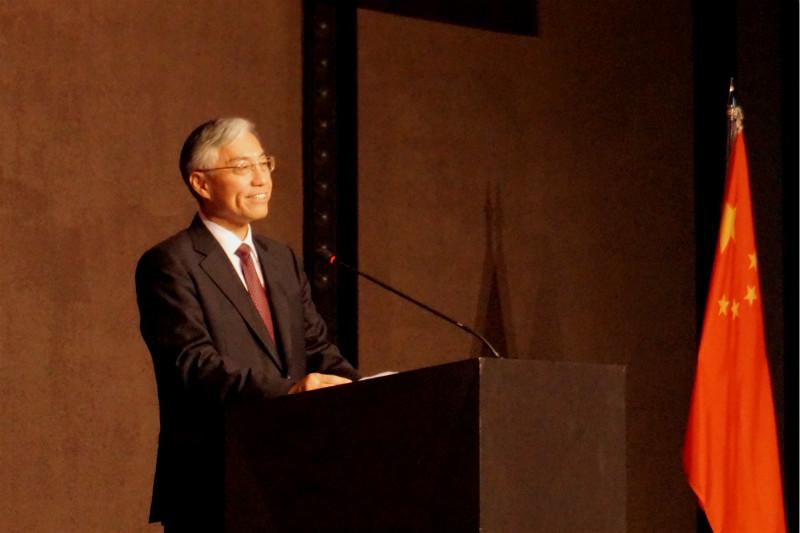 香港中联办主任骆惠宁与广东省领导进行工作交流
