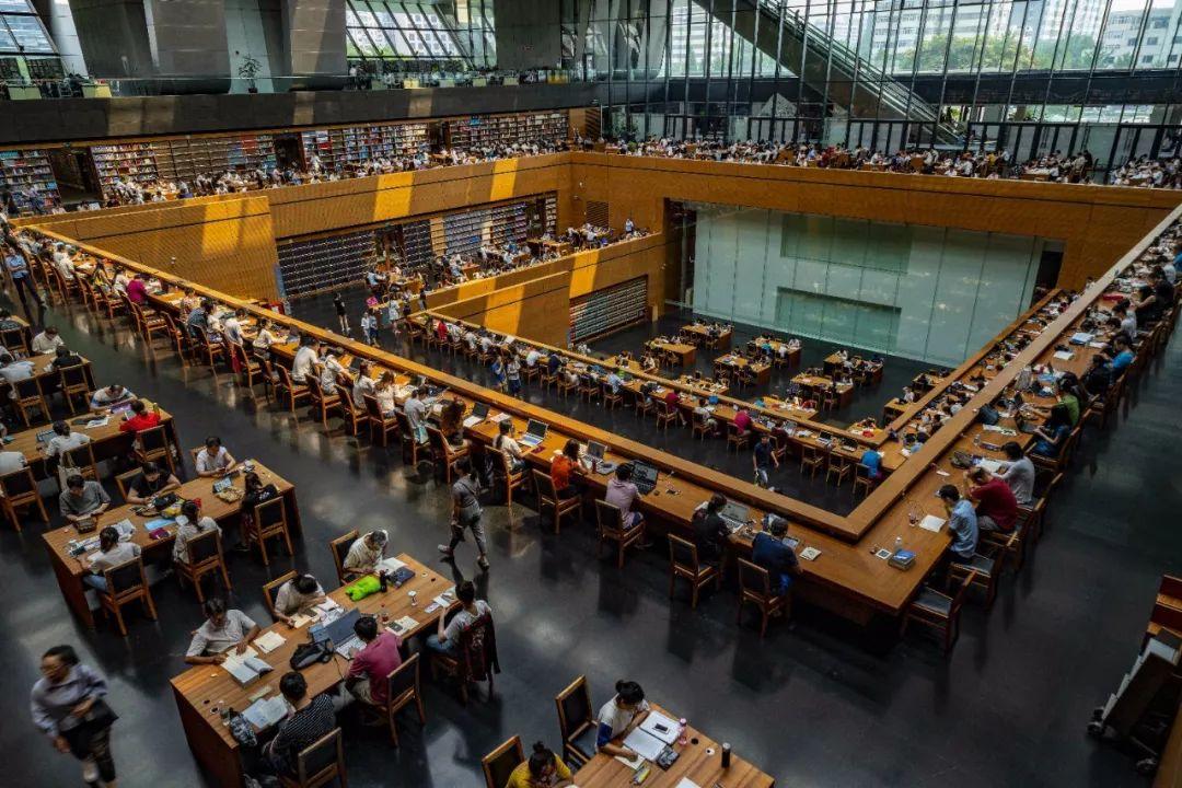 △国家图书馆阅览室