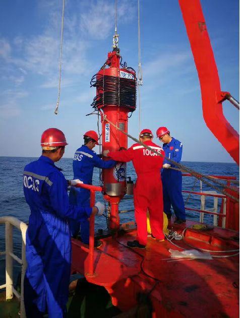 ▲3500米深海实验第三次