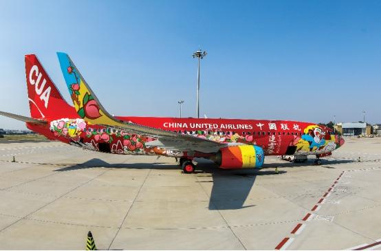 中國聯合航空:繪就五彩斑斕,我為城市代言