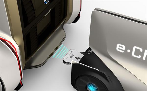豐田氫燃料概念車亮相 能實現邊行駛邊充電的場景