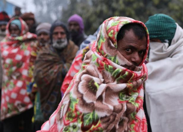 """極端天氣狀況 新德里遇22年來""""最冷""""12月"""