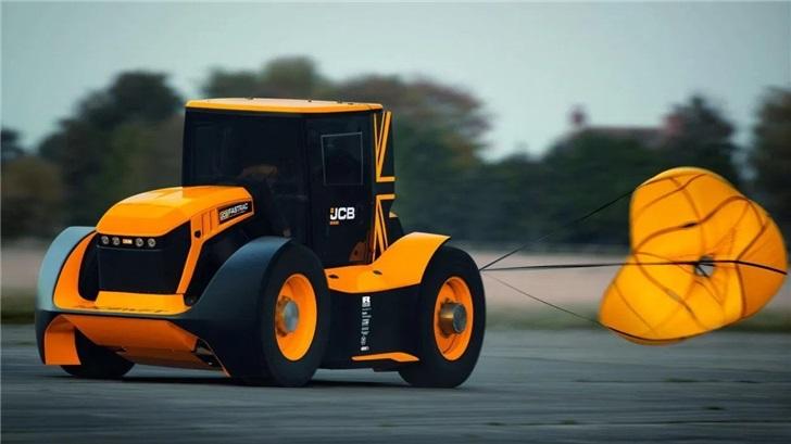 時速約250公里 英國公司研發世界最快拖拉機