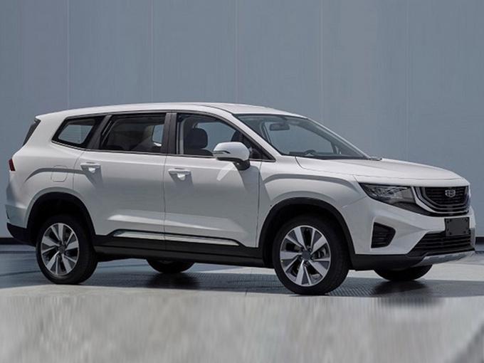 吉利全新中大型SUV最新消息 7座布局/明年上市