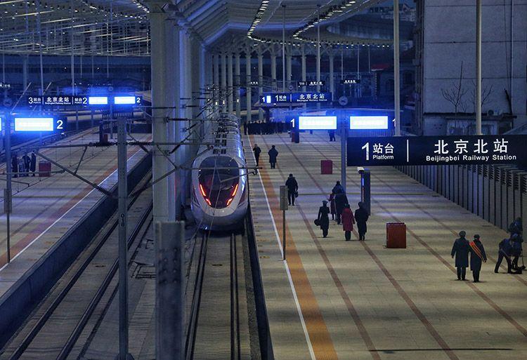 京张高铁开通:全程最快56分钟 北京北站恢复