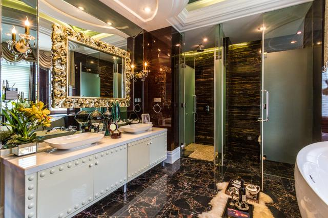 卫生间放洗手台早被淘汰了,当下潮流这样装,好用到家