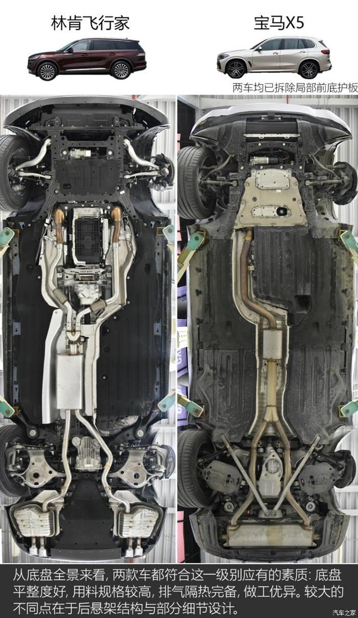 双叉臂式后悬架_针尖对麦芒 林肯飞行家/宝马X5底盘解析-新浪汽车