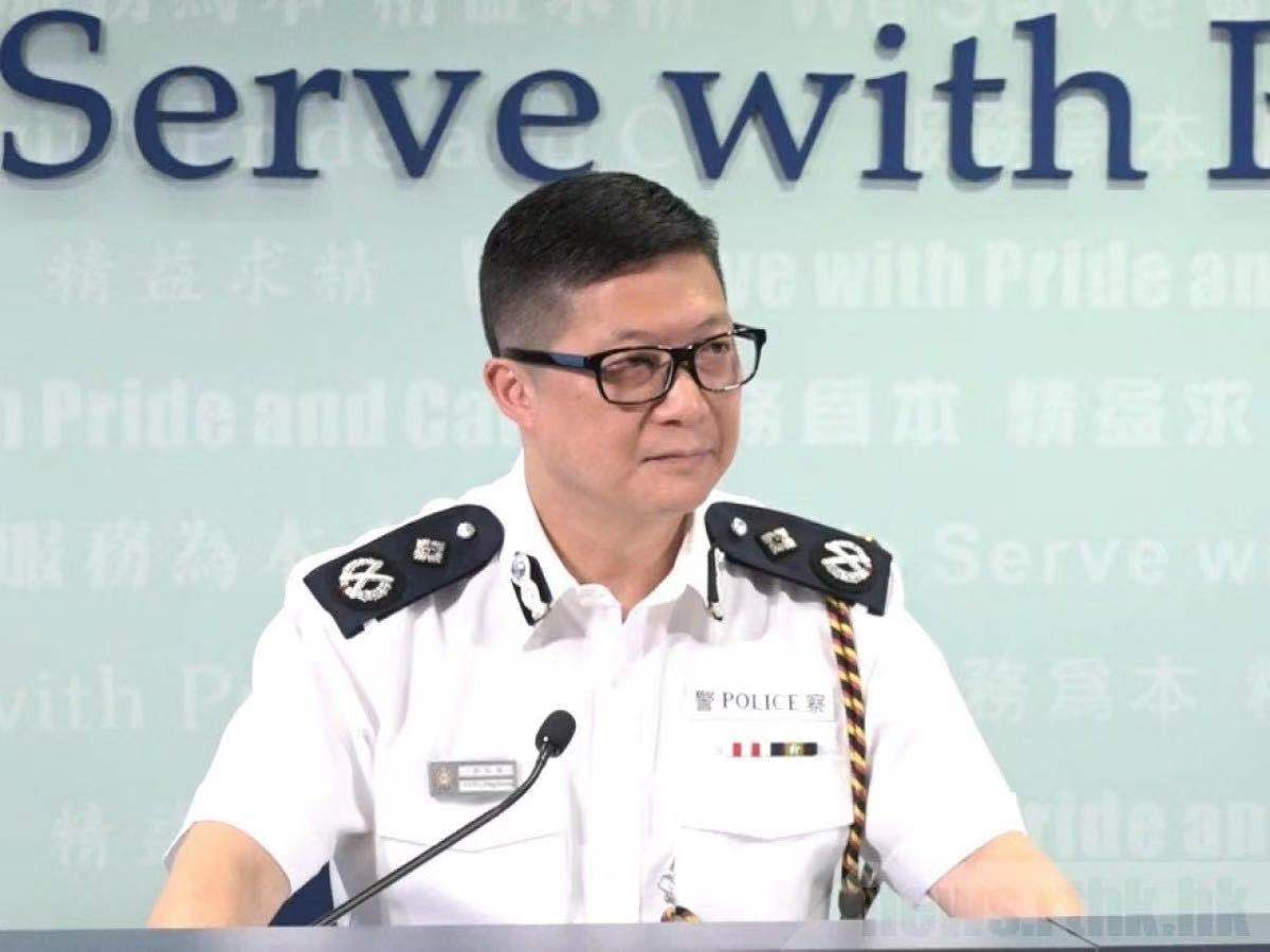 新任香港警务处处长邓炳强