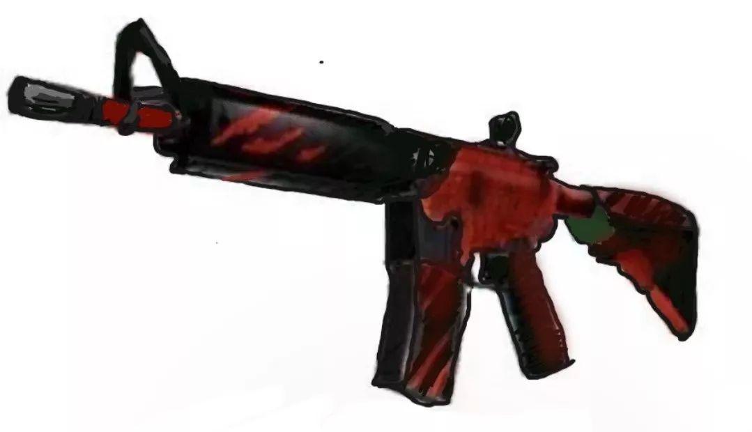 钱某被骗取皮肤:M4咆哮,交易价格20000元。