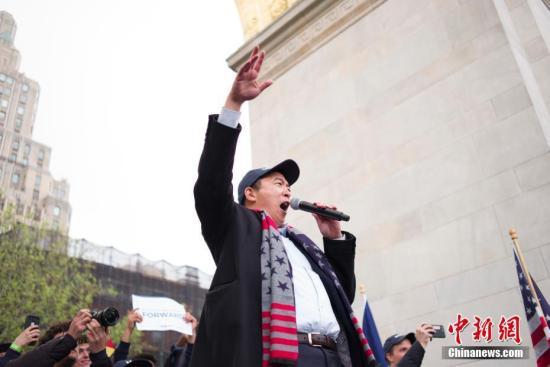 美华裔总统参选人杨安泽遭死亡威胁