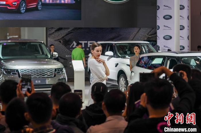 2019東盟國際車展在廣西南寧開幕