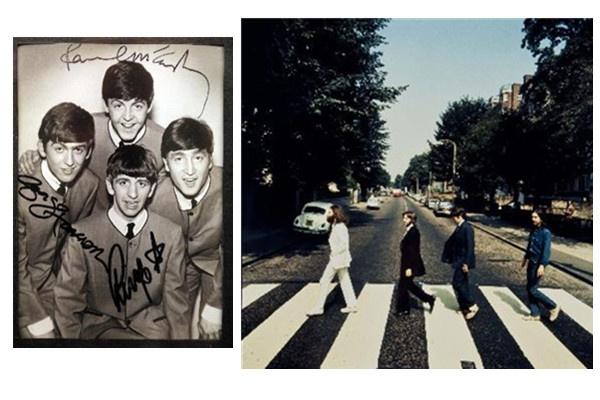 资料图片:披头士乐队(新华社)
