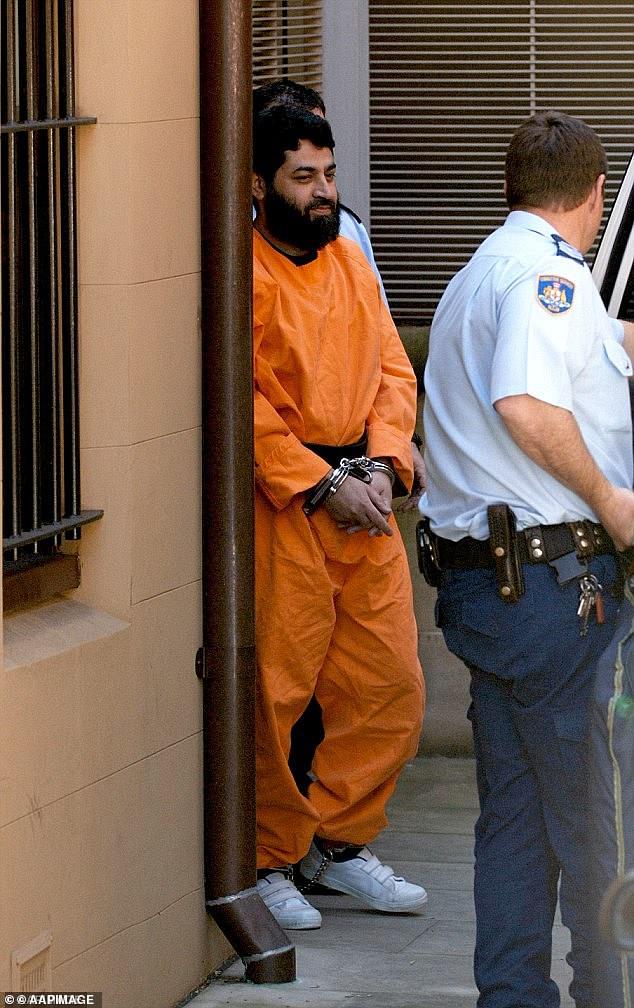 法赫姆·哈立德·洛迪,2006年成为澳大利亚首位被定罪的恐怖分子,现有资格获得假释。(图源:《每日邮报》)