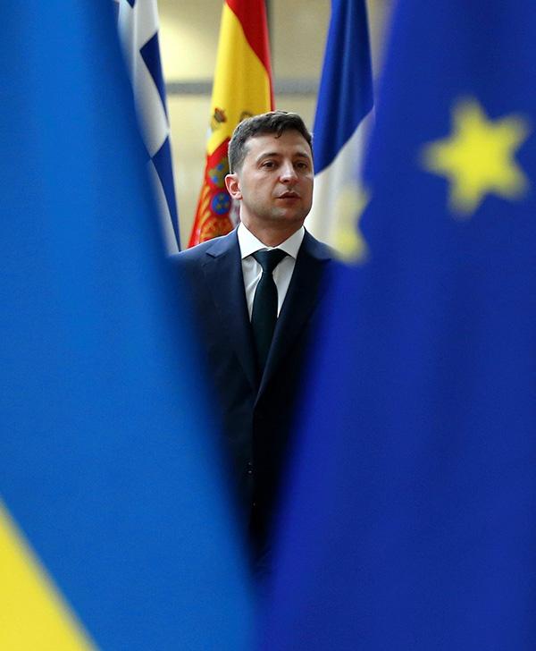 乌克兰总统登上《时代》封面:我不相信任何人