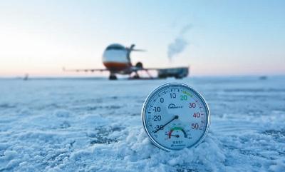ARJ21飞机在内蒙古海拉尔进行高寒试飞。中国商用飞机有限责任公司供图