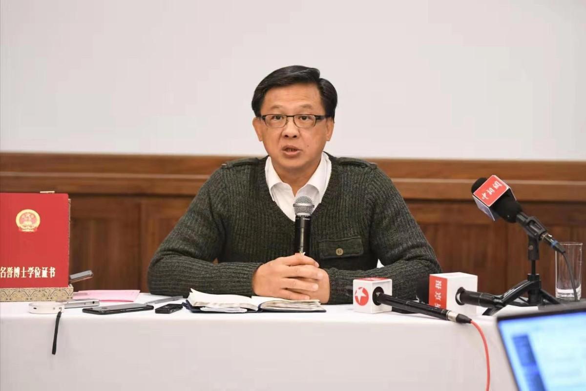 何君尧:获名誉博士学位如强心针 给爱国港人打气