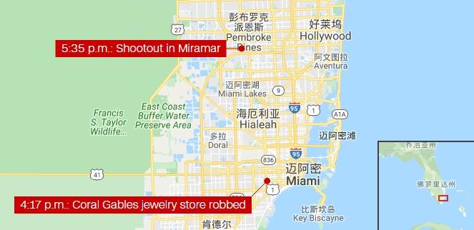 科勒尔盖布尔斯市位于迈阿密市西部约8公里