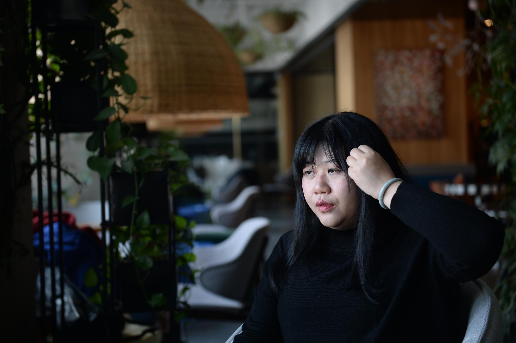 乔碧萝首次露脸采访:现在胖了的照片 - 3