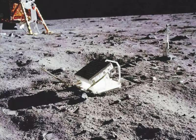 我��首次�@得月球上全部激光反射