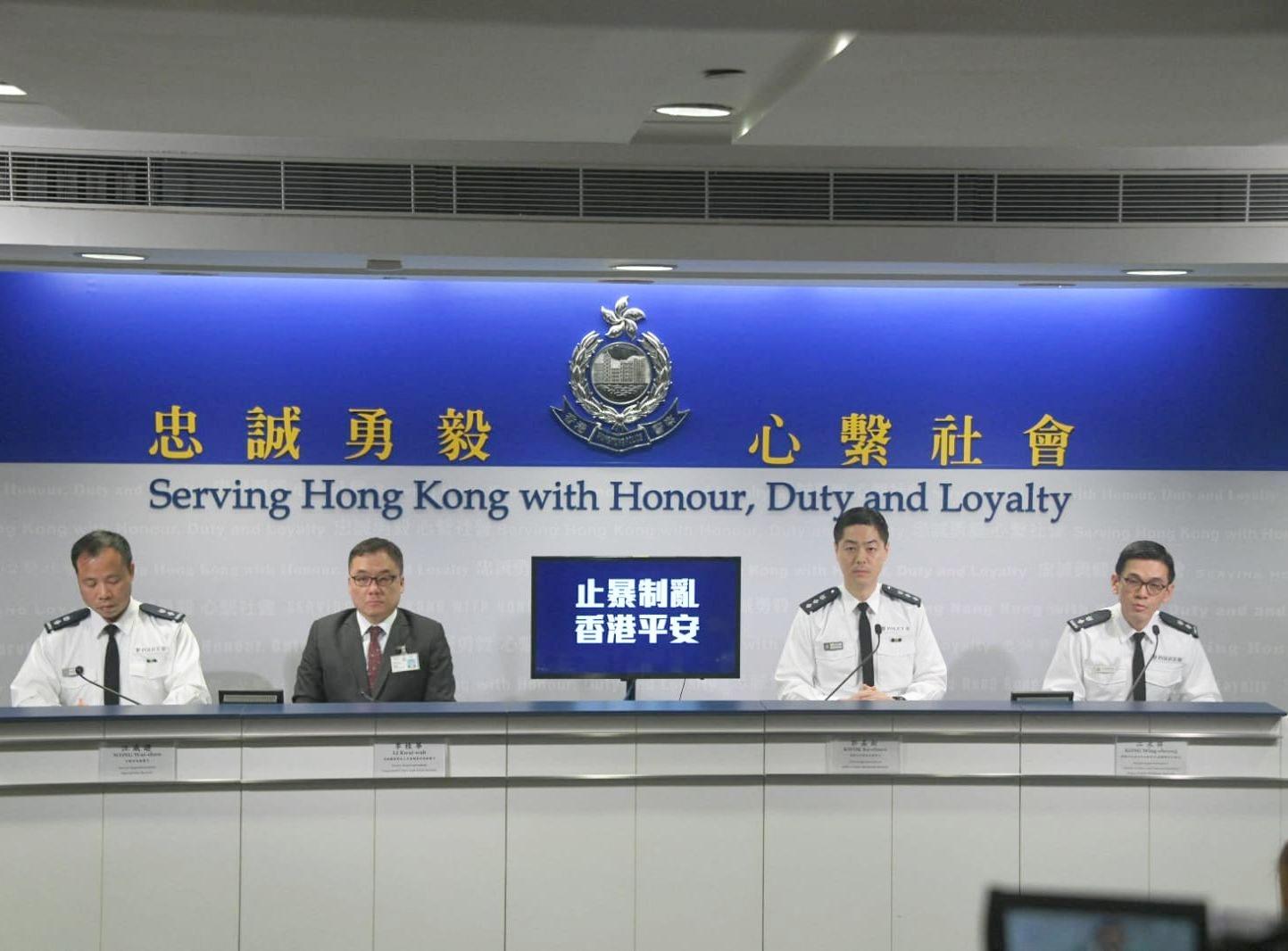 香港1名老师带6名学生私藏攻击性武器 港警:震惊