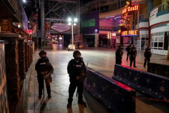 被指煽动暴力 美抗议活动的极右分子遭反恐部队逮捕