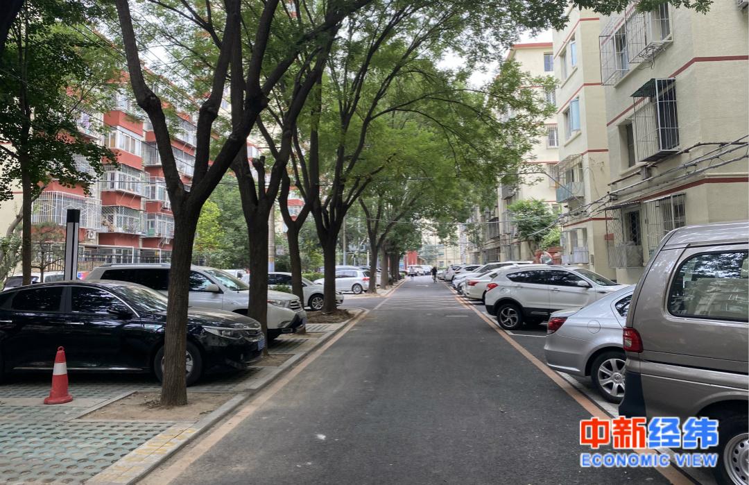 北京市向阳区十里堡一幼区。中新经纬 薛宇飞 摄