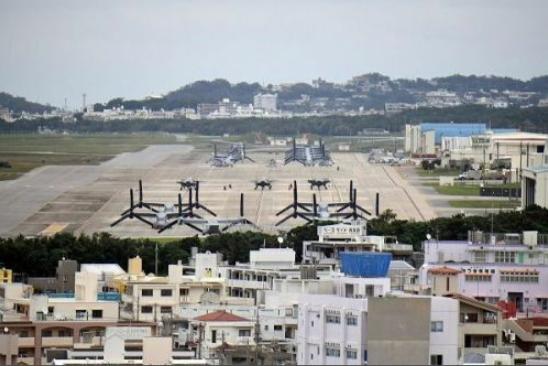 驻冲绳美军基地新增41例确诊病例 累计超200例