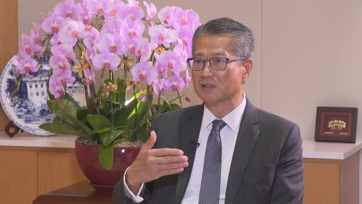香港财政司司长陈茂波:感谢中央全力支援 有助香港尽快控制好疫情