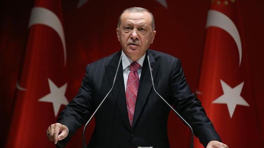 土耳其总统:对话谈判是解决东地中海争端的唯一途径