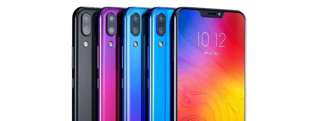 联想Z5手机,图源联想中国微博