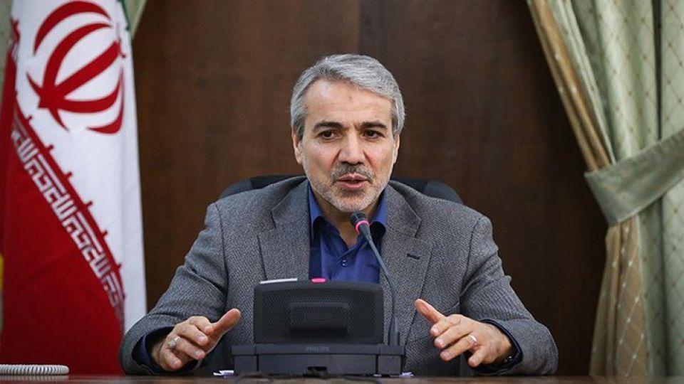 △图为伊朗副总统兼计划与预算构造主席诺巴赫特
