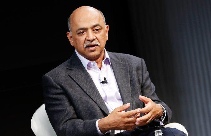 IBM 新任印度裔 CEO 阿文德·克里希纳(Arvind Krishna)|Twitter