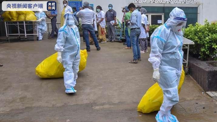 印度6月份以来产生约1.8万吨新冠病毒相关医疗废物