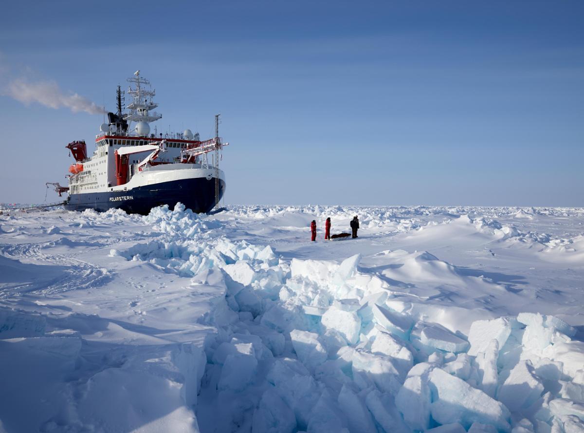 科考团队:北冰洋的海冰在加速消失 前景不乐观