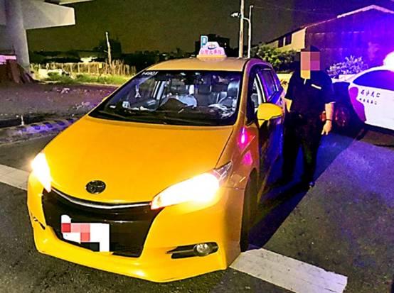 """出租车司机。图源:台湾""""自由时报"""""""