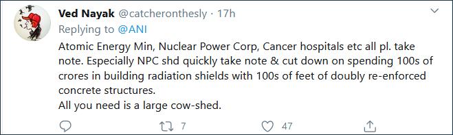 这也行?印度称手机中放入牛粪芯片可防辐射