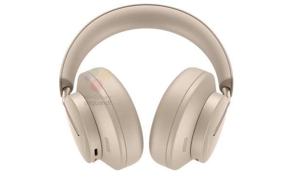 华为首款头戴式耳机FreeBuds Studio渲染图曝光 包耳式设计