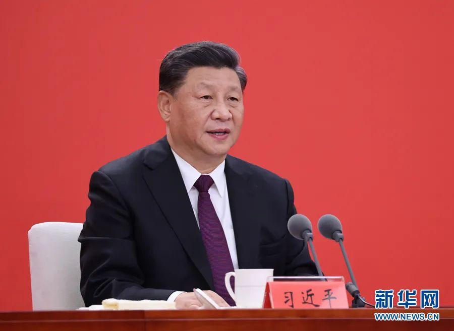 2020年10月14日,习近平在深圳经济特区建立40周年庆祝大会上发表重要讲话。图源:新华社