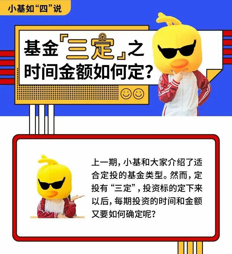 """【小基如""""四""""说】定投之时间金额如何定?"""