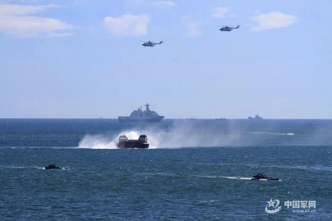中国海军陆战队讲述:抢滩登陆,我们为冲锋而生