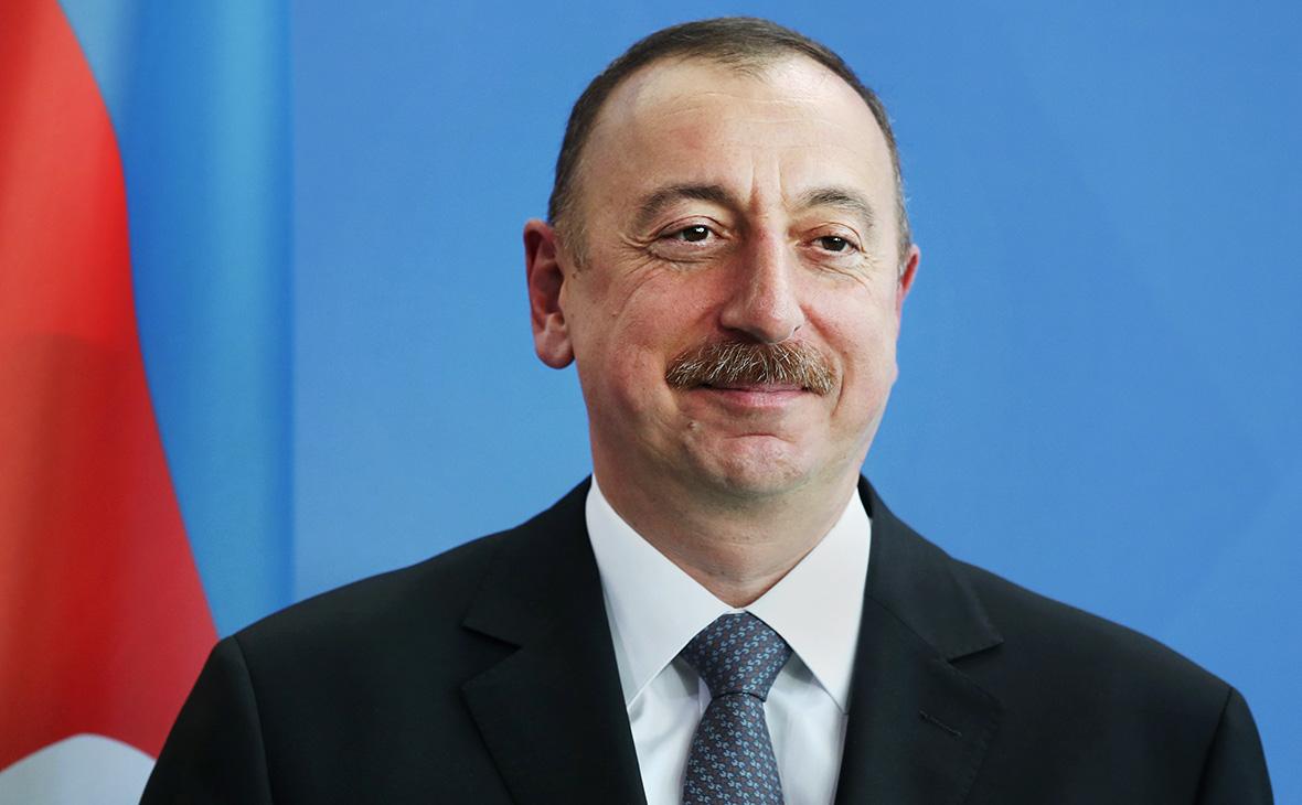 △阿塞拜疆总统阿利耶夫