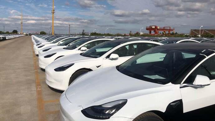 国产特斯拉整车出口海外 首批上海产Model 3预计下周二发往欧洲