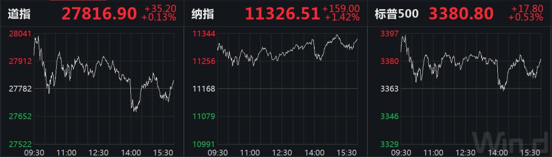 美股大涨、美油一度跌逾6% 大选前最后一份非农报告来袭
